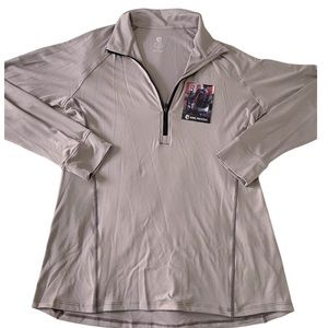 NWT Born primitive zip up long sleeve top